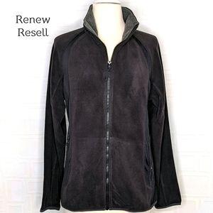 Xersion Long Sleeve Zip Front Polar Fleece Jacket